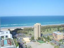 Kurrawa Broadbeach view from Sofitel