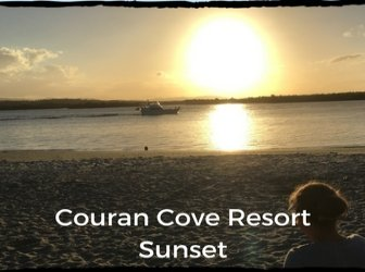 Sunset at Couran Cove