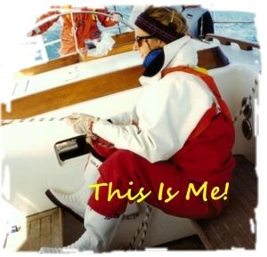 Annie Sailing To Gold Coast in 1990