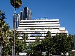 Australia Fair Shopping Centre outside view
