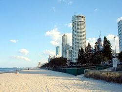 Beachfront Apartments in Surfers Paradise.