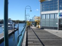 Boardwalk at Hope Island Marina is home to some great cafes, restauarants and the Boardwalk Tavern