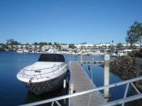 Boat at Hope Island Marina Gold Coast Australia