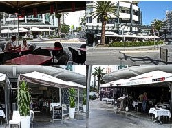 Different views of Broadbeach restaurants, cafes and places to eat.
