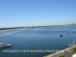Broadwater views on the Gold Coast.