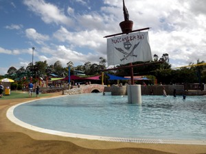 Bucaneer Bay at Wet n Wild Gold Coast
