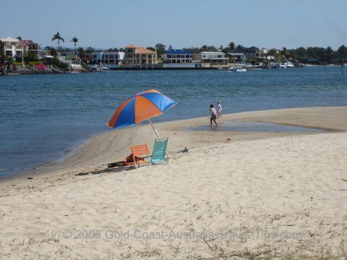Budds Beach umbrella photo!