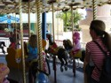 The Carousel at Sea World is in the Beach Bay Children's Area along with other small children friendly rides.