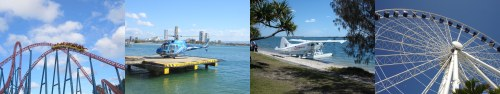 Different ways to view the Gold Coast