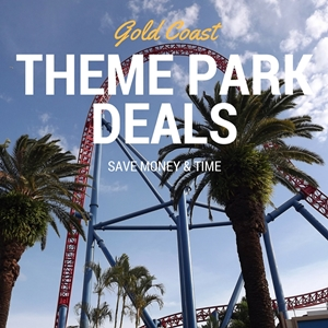 Gold Coast Deals for theme parks.