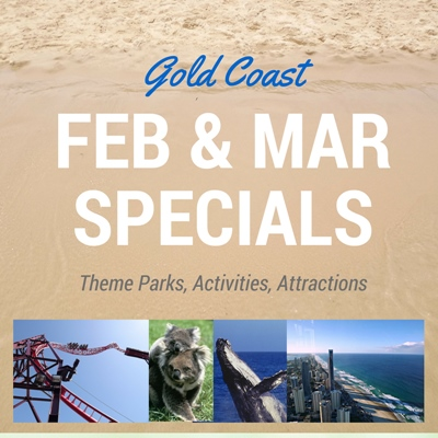Gold Coast Holidays in February and March - Deals and Specials