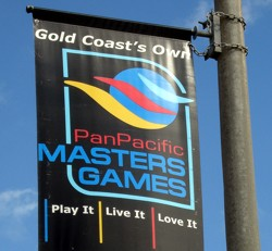 Gold Coast hosts Pan Pacific Masters Games in November in even years.