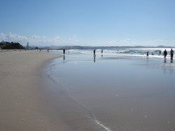 Gold Coast Queensland beach at Coolangatta.