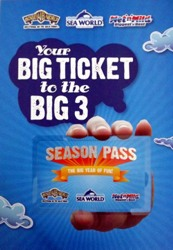 Gold Coast Theme Park Season Pass