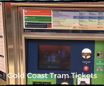 Tram Ticket Machine