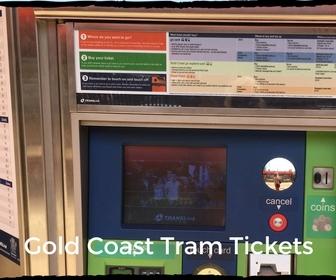 Tram Ticket Machine