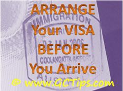 Gold Coast Visa Tips
