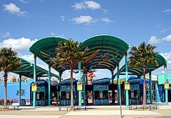 Both Gold Coast water parks - Wet n Wild and WhiteWater World heat their water during winter months.