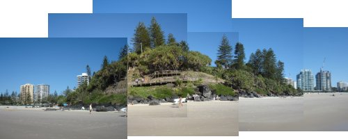 Greenmount Beach Panorama