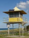 Surf Lifesaver Patrol Tower