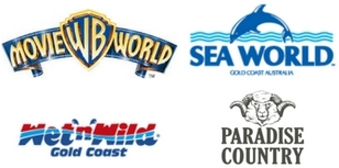 4 Park 12 month One Pass - Theme Parks