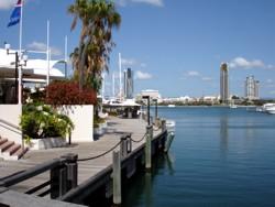 Marina Mirage at Main Beach.