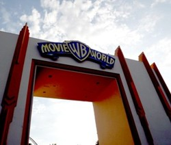 Entrance to Movie World on Gold Coast