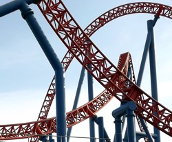 Movie World Rollercoaster SuperMan Escape