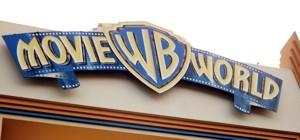Movie World Sign at Entrance