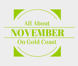 Find out about November in Gold Coast