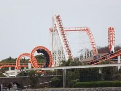 Sea Viper Roller Coaster at Sea World Gold Coast.