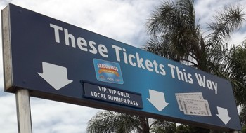 Sea World Pass Entry for faster access on pre-paid tickets.