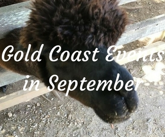 Gold Coast events in September