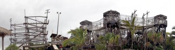 Sky Climb and Sky Fortress at Sea World Gold Coast