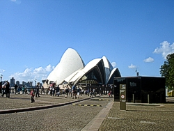 Sydney Opera House an icon location to visit in Australia.