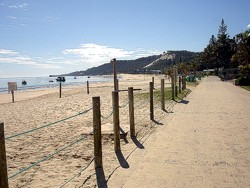 Tangalooma Resort beach