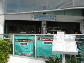 The Friendly Orca Restaurant at Aqua Labrador.