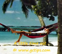 Taking Time out to chill in relaxing locations is romantic!