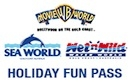 Holiday Fun Pass  and other tickets and passes available for Gold Coast theme parks.