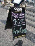 Aqua on Broadwater breakfast deal