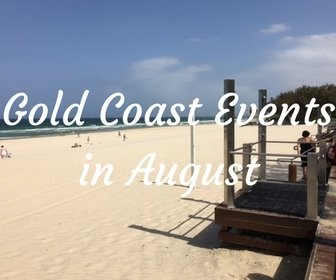 Gold Coast events in August