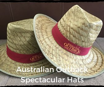 Souvenir Hat from Australian Outback Spectacular Show great Sun Hat!