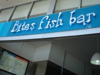 Bites Fish Bar Coolangatta Reflections on the Sea