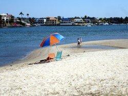 Budds Beach, the other Surfers Paradise beach!