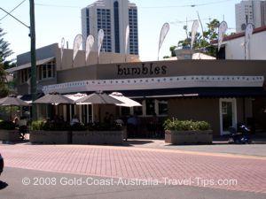 Bumbles Cafe at Budds Beach