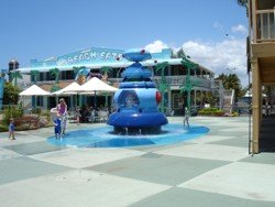 Cartoon Beach Water Play At Sea World