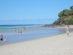 Beach at Coolangatta