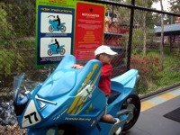 Motocoaster bike to check if you fit!