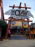 The Claw looks almost inviting!