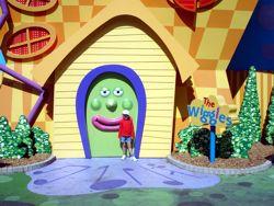 Wiggles house in Dreamworld